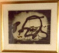 Profil Limited Edition Print by Antoni Tapies - 1