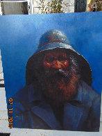 Old Man of the Sea 2000 24x20 Original Painting by Jorge  Tarallo Braun - 2