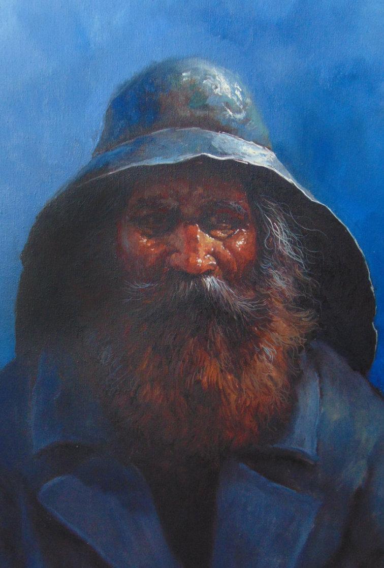 Old Man of the Sea 2000 24x20 Original Painting by Jorge  Tarallo Braun