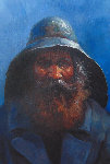 Old Man of the Sea 2000 24x20 Original Painting - Jorge  Tarallo Braun