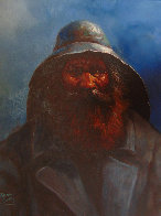 Old Man of the Sea 2000 24x20 Original Painting by Jorge  Tarallo Braun - 1