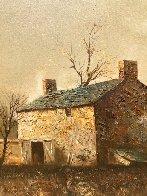 Untitled Oil on Canvas 1970 32x44 Original Painting by Jorge  Tarallo Braun - 2