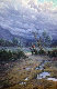 Cowboy in the Valley 1982 Original Painting - Jorge  Tarallo Braun