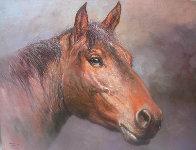 Horsehead 1980 24x30 Original Painting by Jorge  Tarallo Braun - 0