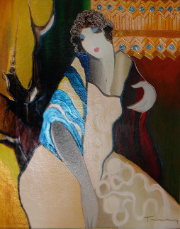 Allure Embellished 2001 Limited Edition Print by Itzchak Tarkay