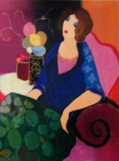 In Bloom 2000 Limited Edition Print - Itzchak Tarkay