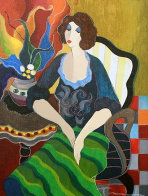 Day Dreaming #1 2014 Limited Edition Print by Itzchak Tarkay - 0