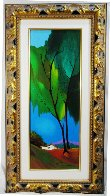 Foliage in Spring Embellished 2003 Limited Edition Print by Itzchak Tarkay - 2