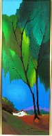Foliage in Spring Embellished 2003 Limited Edition Print by Itzchak Tarkay - 1