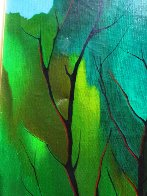 Foliage in Spring Embellished 2003 Limited Edition Print by Itzchak Tarkay - 5