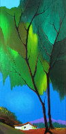 Foliage in Spring Embellished 2003 Limited Edition Print by Itzchak Tarkay - 0