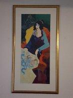 Josephine Super Huge Limited Edition Print by Itzchak Tarkay - 1
