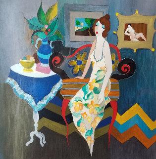 Elegant Pause 2006 Limited Edition Print by Itzchak Tarkay