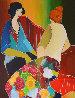 Confiding 2006 EA Limited Edition Print by Itzchak Tarkay - 0