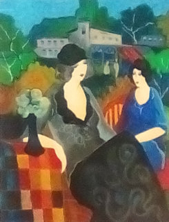 Sunday Afternoon II 2003 Limited Edition Print by Itzchak Tarkay