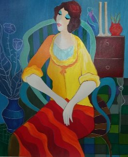 Day Dreaming 2006 Limited Edition Print by Itzchak Tarkay
