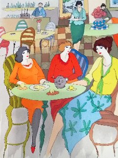 Three Sisters 2006 Limited Edition Print - Itzchak Tarkay