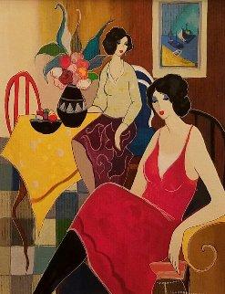 Cafe Company 2005 Limited Edition Print by Itzchak Tarkay