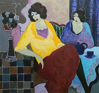 Sisters AP Limited Edition Print - Itzchak Tarkay