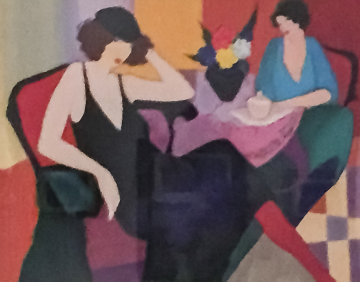 Untitled Lithograph Limited Edition Print by Itzchak Tarkay