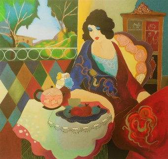 Solitude II 2004 Limited Edition Print by Itzchak Tarkay