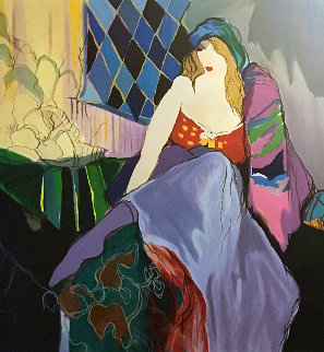 Painters Model 1993 Limited Edition Print - Itzchak Tarkay