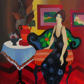 A Moment of Peace AP 2005 Limited Edition Print by Itzchak Tarkay