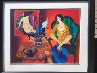 Tranquility AP 2006 Limited Edition Print by Itzchak Tarkay - 4