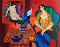 Tranquility AP 2006 Limited Edition Print by Itzchak Tarkay - 0