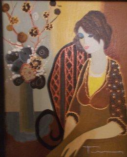 Peyton  2004 Embellished Limited Edition Print - Itzchak Tarkay