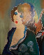 Holiday Eve 2001 Embellished Limited Edition Print by Itzchak Tarkay - 0