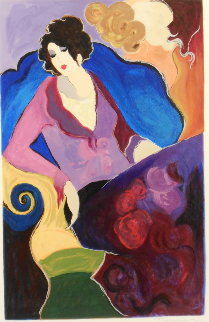 Estelle 1999 Limited Edition Print by Itzchak Tarkay