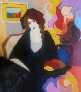 Unspoken  Thoughts I 1992 Limited Edition Print by Itzchak Tarkay