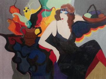 Mademoiselle 1995 Limited Edition Print - Itzchak Tarkay