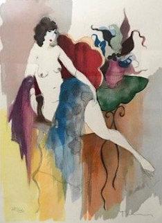 Andrea 1997 Limited Edition Print by Itzchak Tarkay