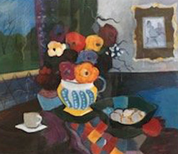 Memorable Moments I 1996 Limited Edition Print by Itzchak Tarkay