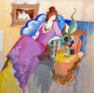 Le Salon I 1996 Limited Edition Print - Itzchak Tarkay