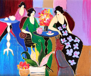 Sweet Notions 2000 Embellished Limited Edition Print by Itzchak Tarkay