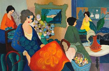Michelle Lovely 2003 Limited Edition Print by Itzchak Tarkay