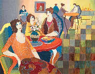 Afternoon Appetizers 2007 Limited Edition Print by Itzchak Tarkay - 0