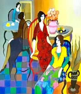 Social Club 2015 Limited Edition Print by Itzchak Tarkay