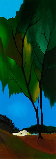 Foliage in Spring 2003 Limited Edition Print by Itzchak Tarkay