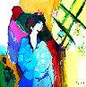 Michelle 1991 47x47 Original Painting by Itzchak Tarkay - 0