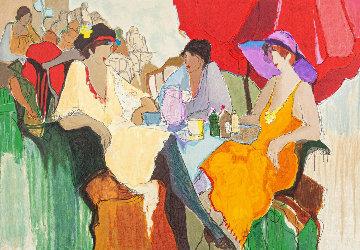 Untitled (Three Women) Limited Edition Print - Itzchak Tarkay