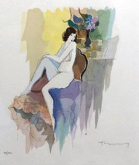 Catherine 1996 Limited Edition Print - Itzchak Tarkay