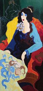 Josephine 1999 Limited Edition Print - Itzchak Tarkay