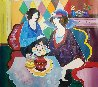 Untitled Painting 2002 30x25 Original Painting by Itzchak Tarkay - 1