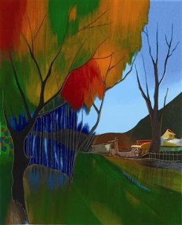 Quiet Road 2004 Limited Edition Print by Itzchak Tarkay