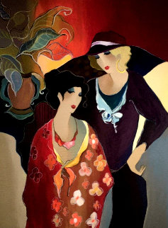 Just the Two of Us 2008 Limited Edition Print - Itzchak Tarkay