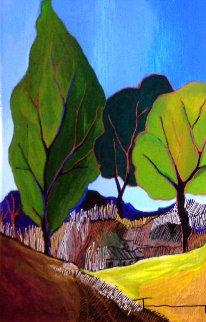 Silent Hillside AP 2006 Limited Edition Print - Itzchak Tarkay